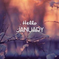 Hello January 2016…
