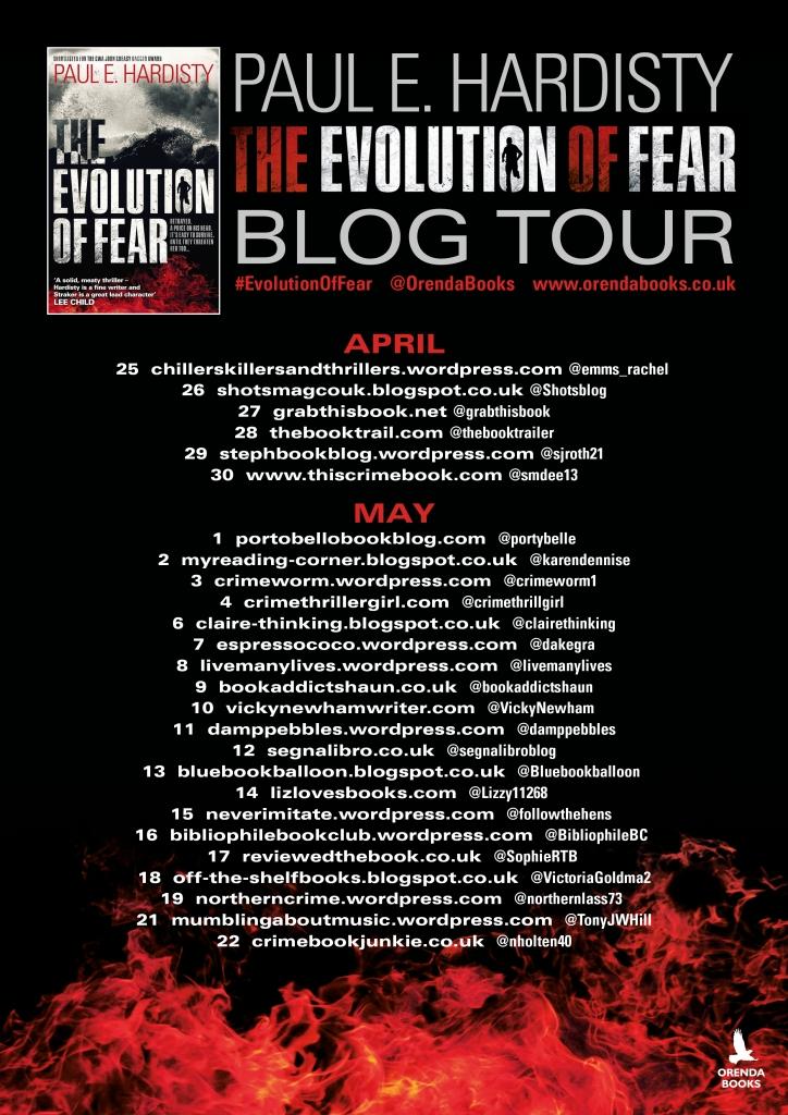 Evolution of Fear Blog tour 2