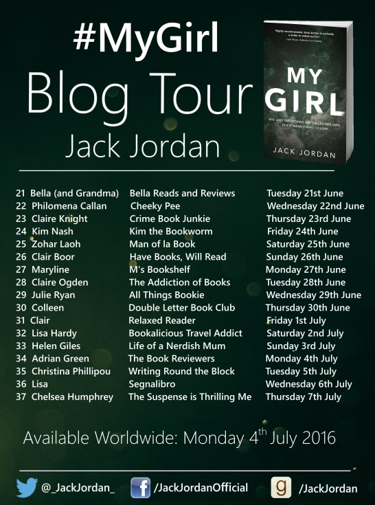 My Girl - Blog Tour Poster - Part 2