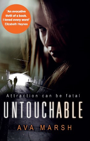 Ava Marsh's book cover for Untouchable.