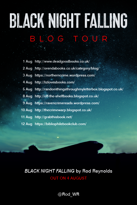 Black Night Falling_blog tour graphic