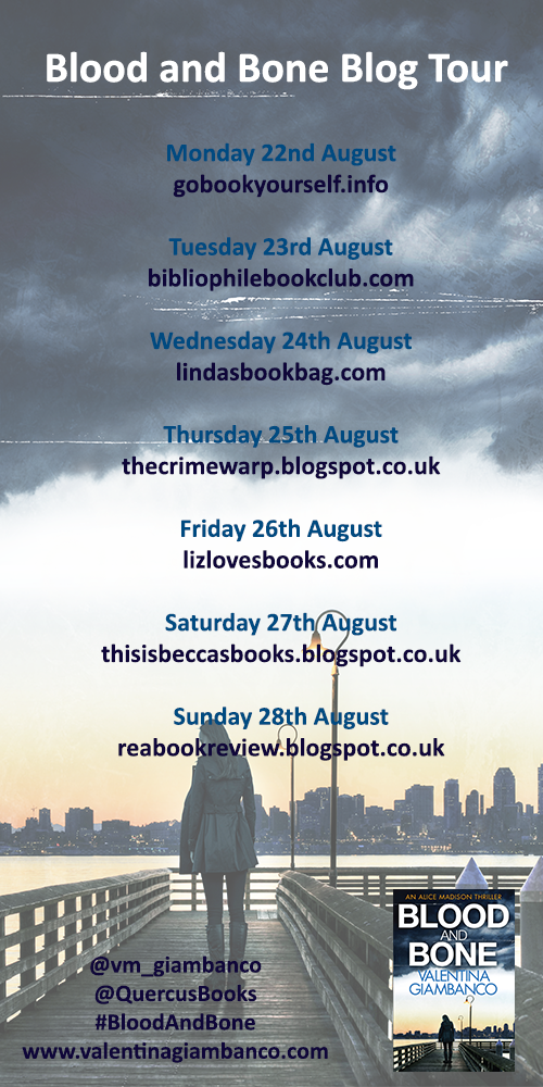 Blood and Bone blog tour poster