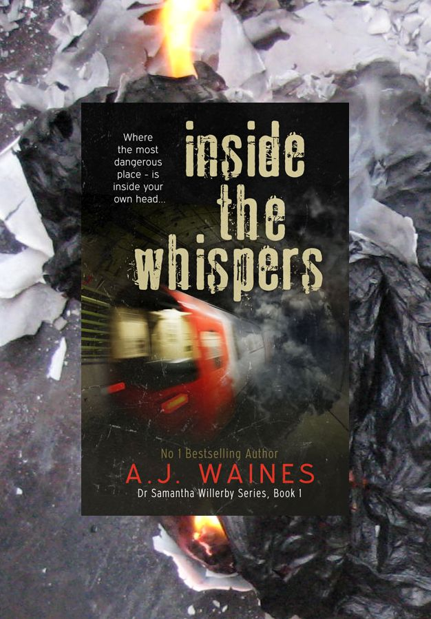 *Cover Reveal* Inside The Whispers by A. J. Waines
