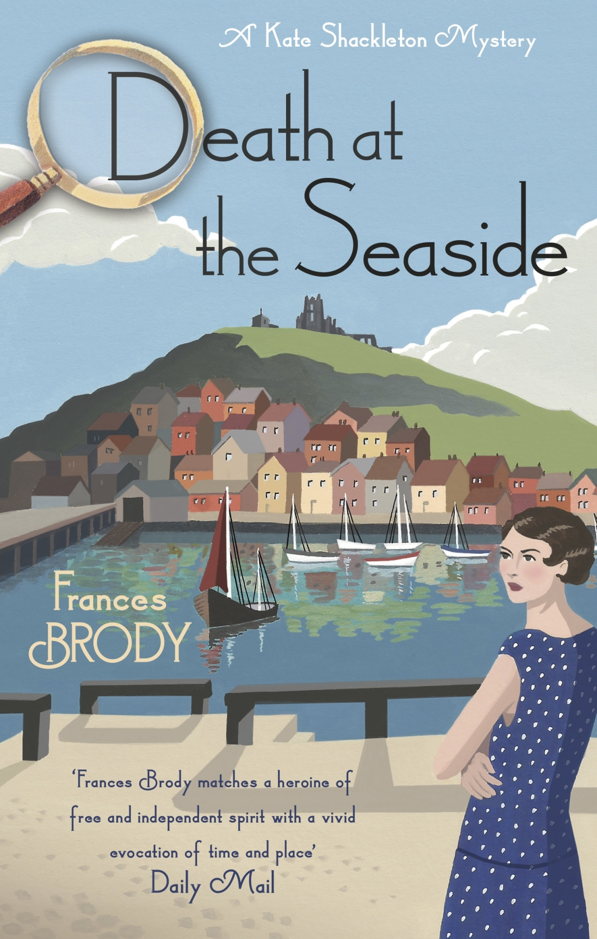 *Blog Tour* Death at the Seaside by Frances Brody