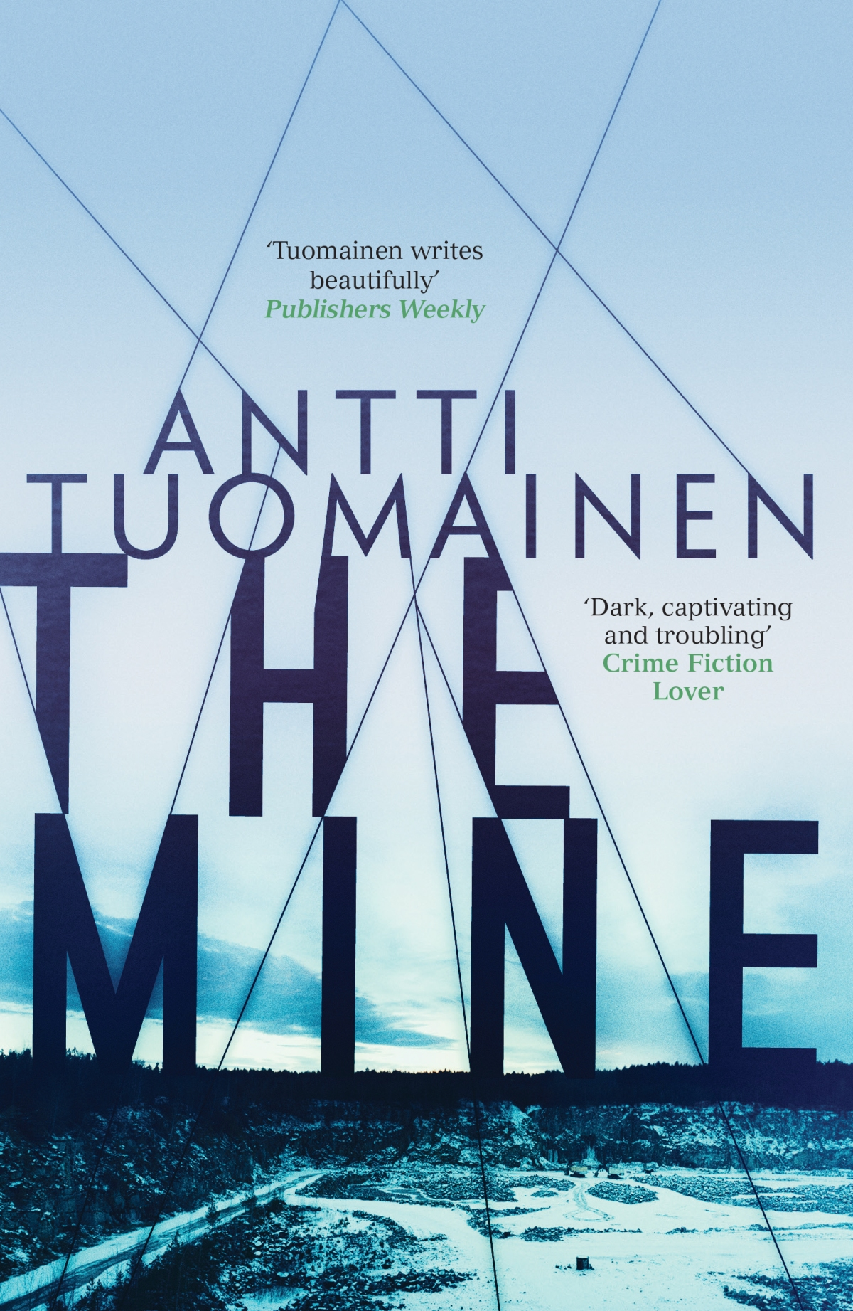*Blog Tour* The Mine by Antti Tuomainen #Finnish Invasion