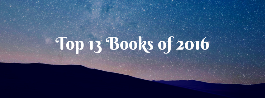 Top 13 Books of2016…