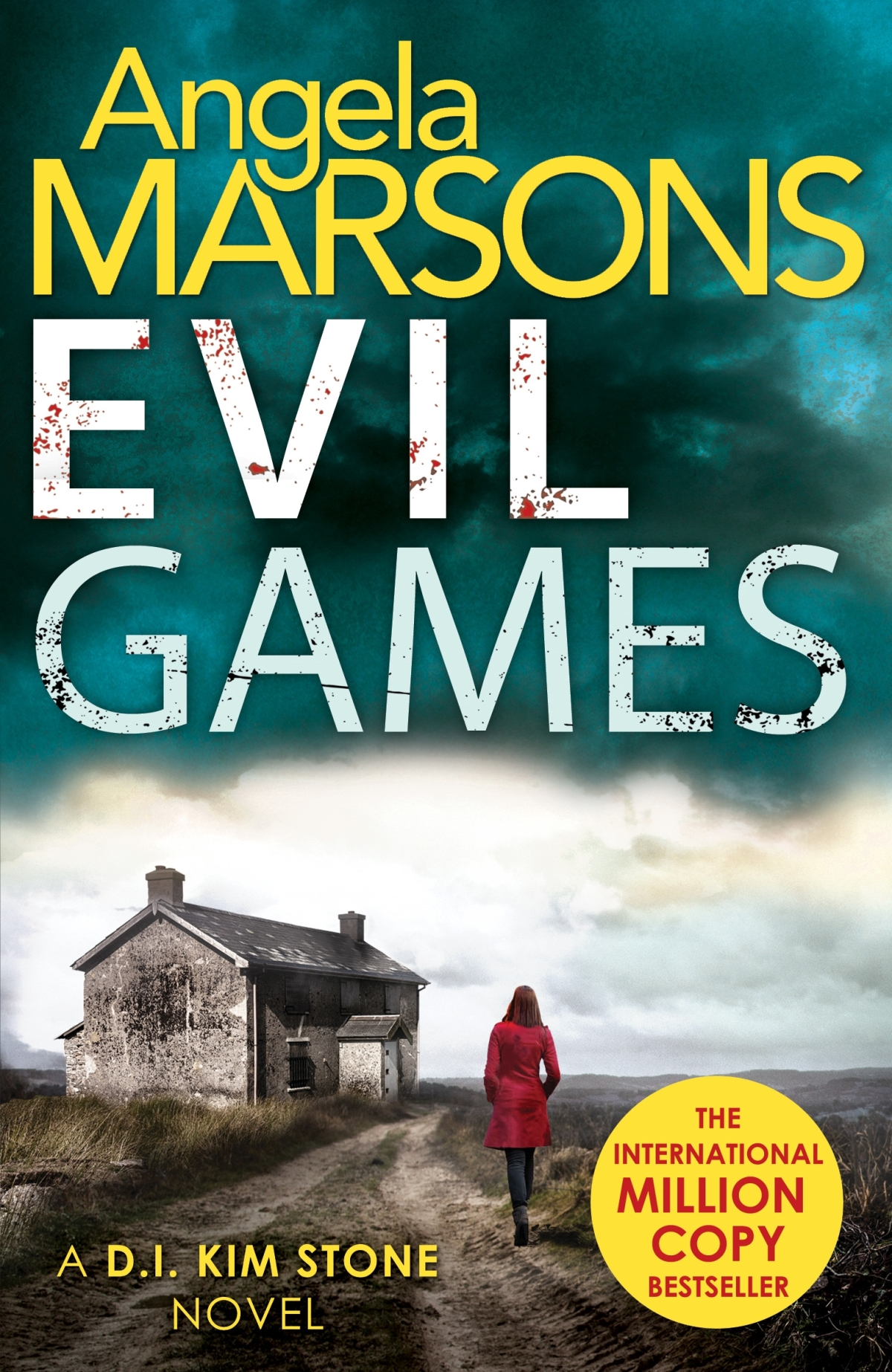 *Blog Tour* Evil Games by AngelaMarsons