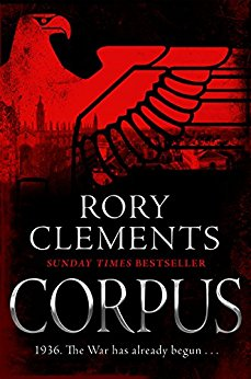 *Blog Tour* Corpus by Rory Clements