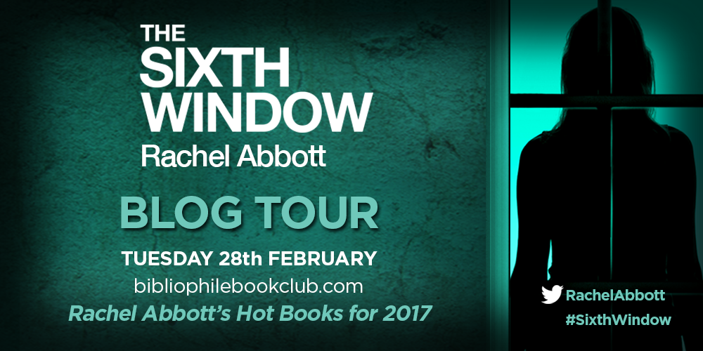 The Sixth Window by Rachel Abbott- Rachel Abbott's Hot Books for2017