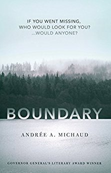 *Blog Tour* Boundary by Andrée A. Michaud~ Giveaway