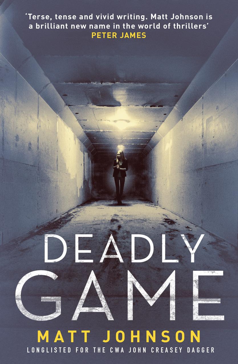 *Blog Tour* Deadly Game by MattJohnson