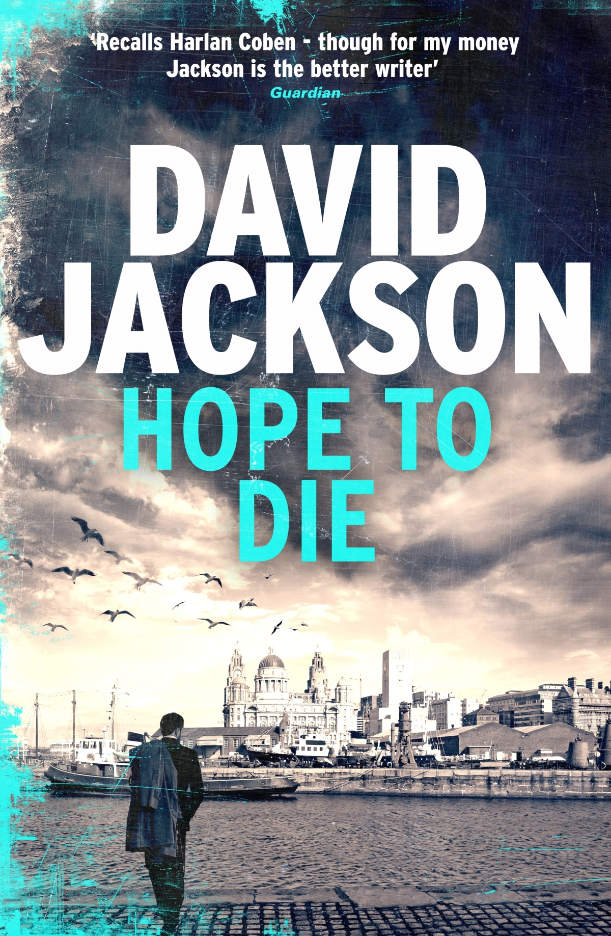 Q&A with David Jackson #HopeToDie