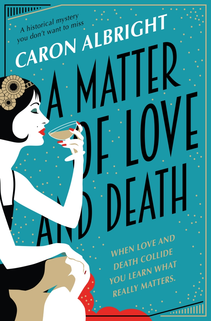 Caron Albright - A Matter of Love and Death_cover_1