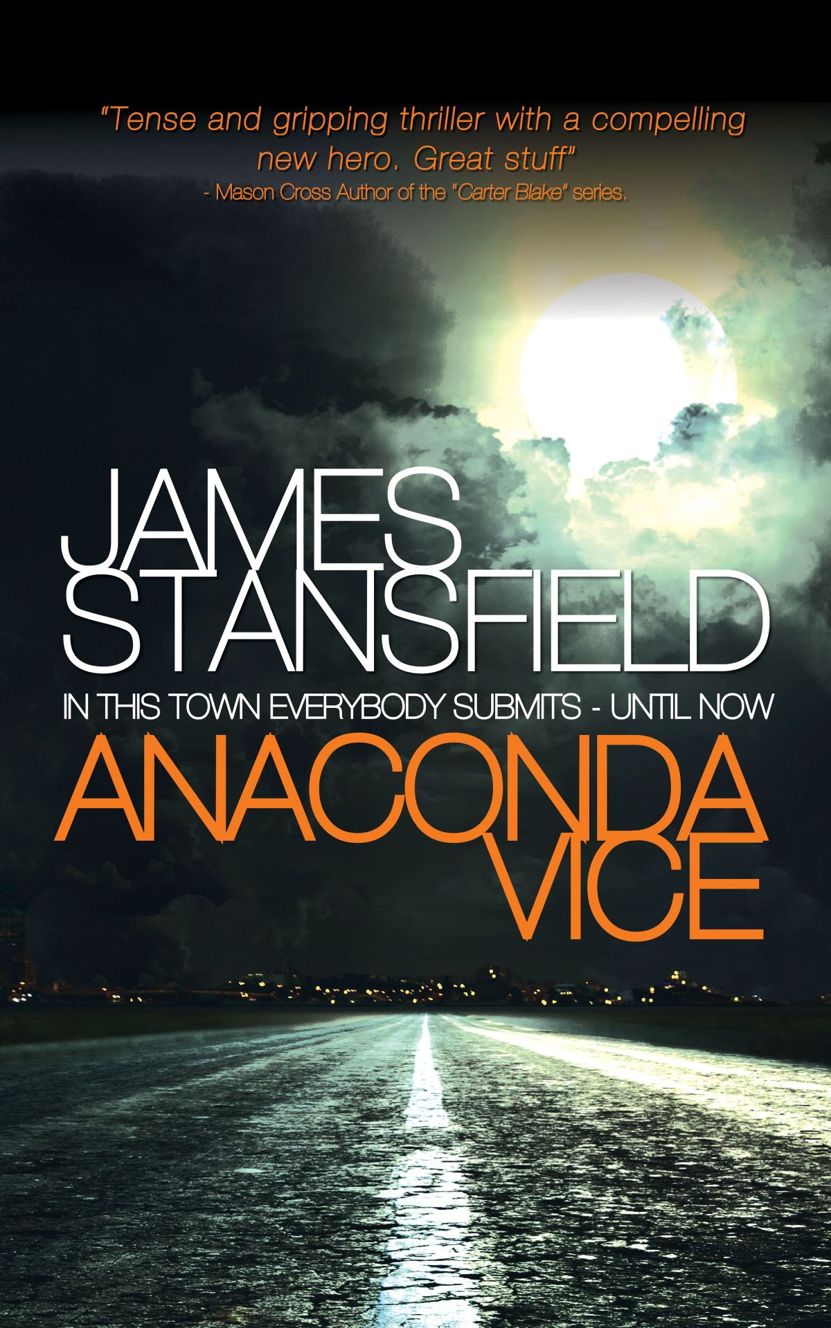 Blog Tour~Anaconda Vice by James Stansfield