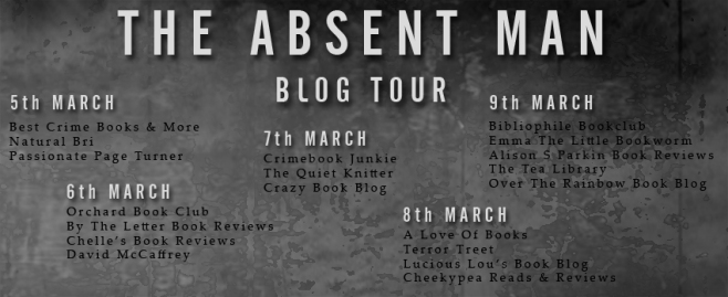 Blog Tour~The Absent Man by Robert Enright