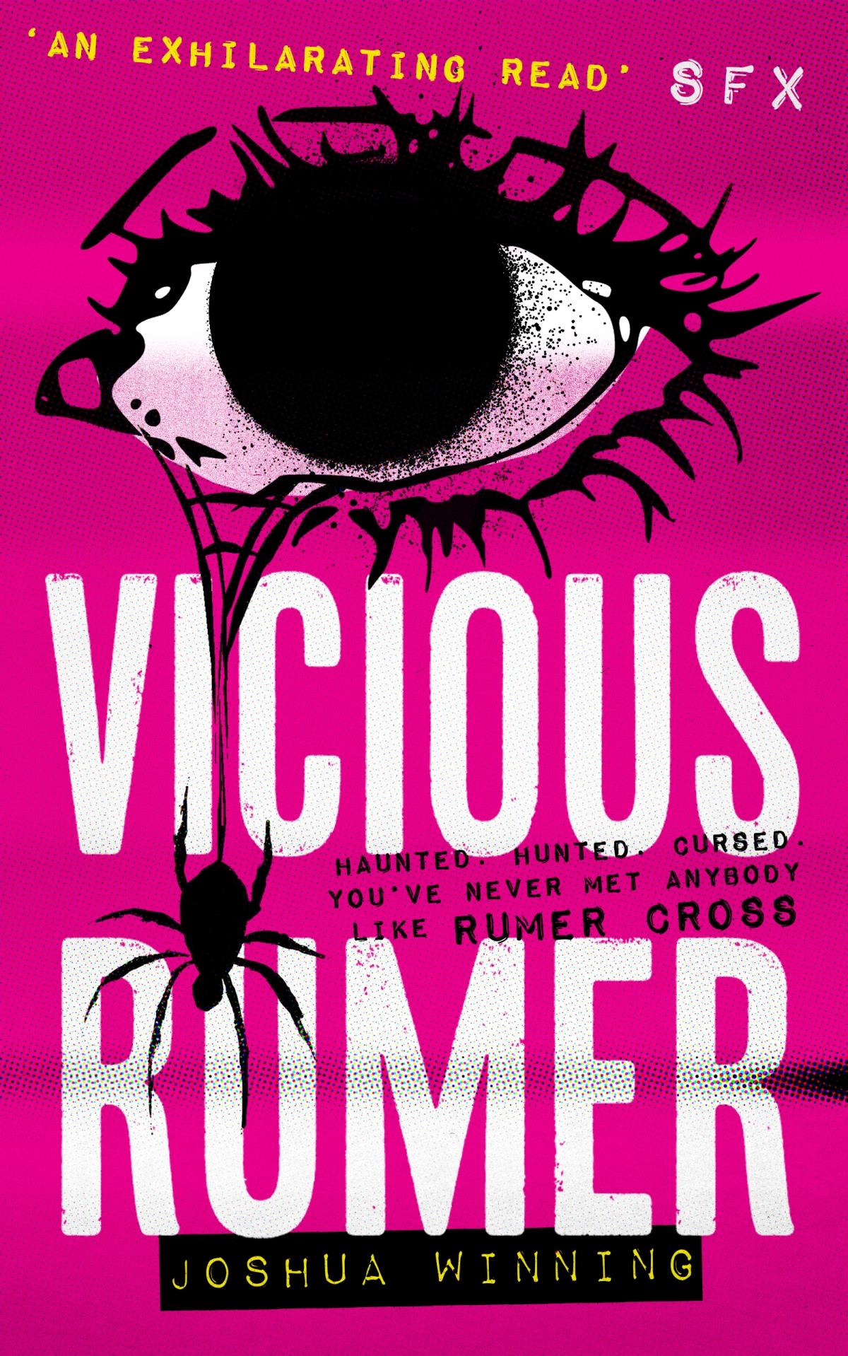 Vicious Rumer by Joshua Winning~Interview and Ellen'sReview