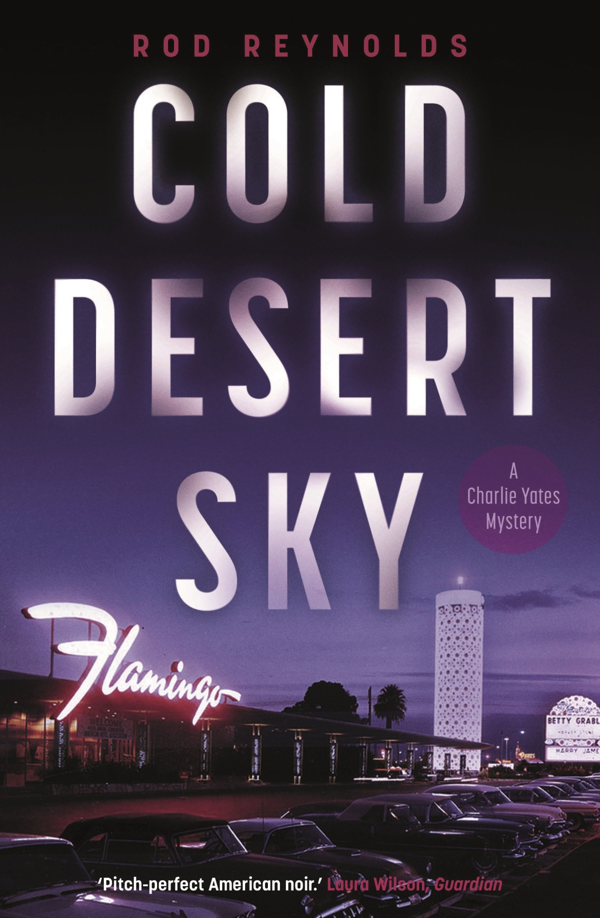 Blog Tour Extract ~ Cold Desert Sky by Rod Reynolds