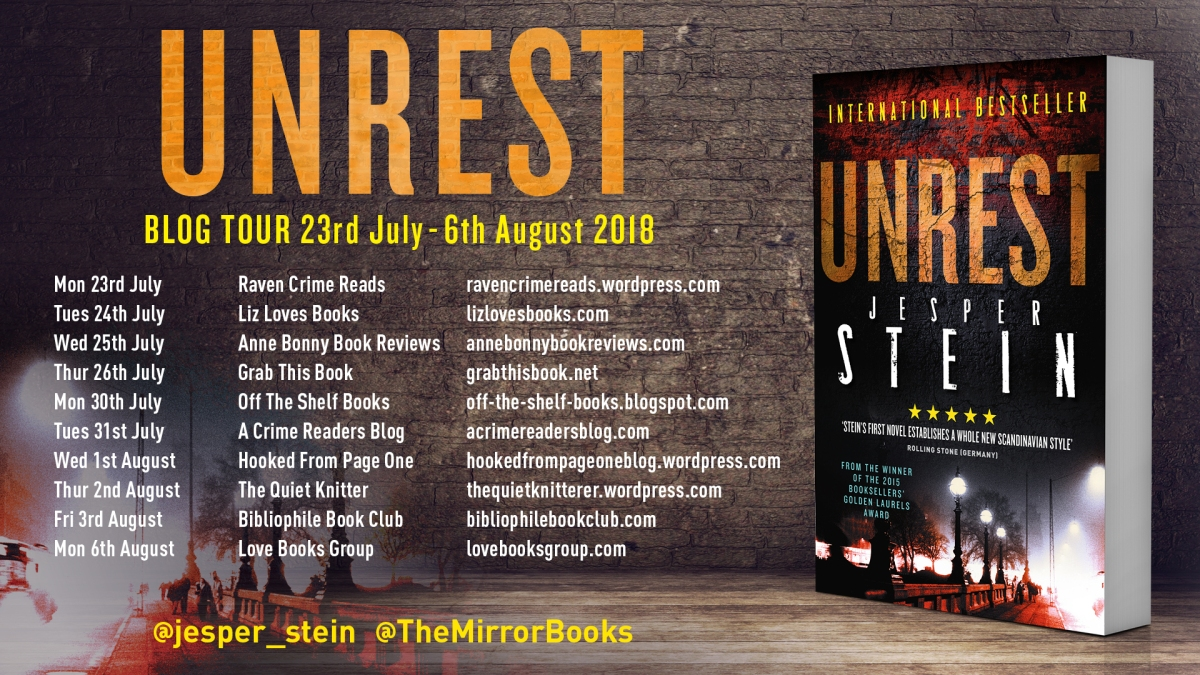 Blog Tour~Unrest by Jesper Stein