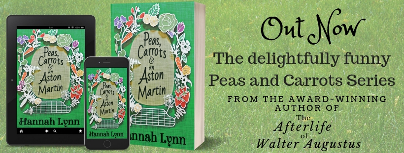 Blog Tour-Peas, Carrots and an Aston Martin by Hannah Lynn ~ Ellen's Review