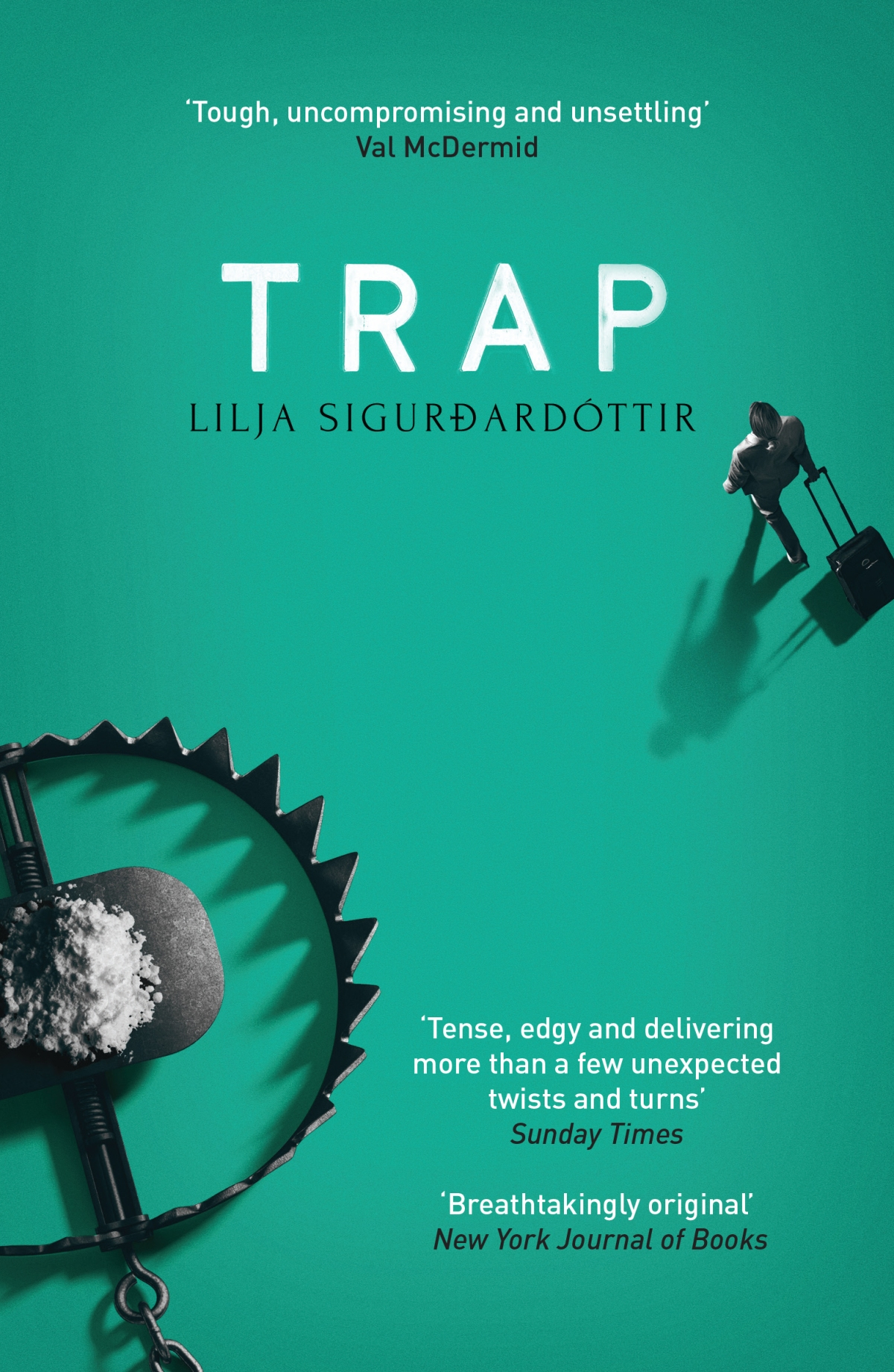 Blog Tour~ Trap by Lilja Sigurdardóttir Ellen's Review