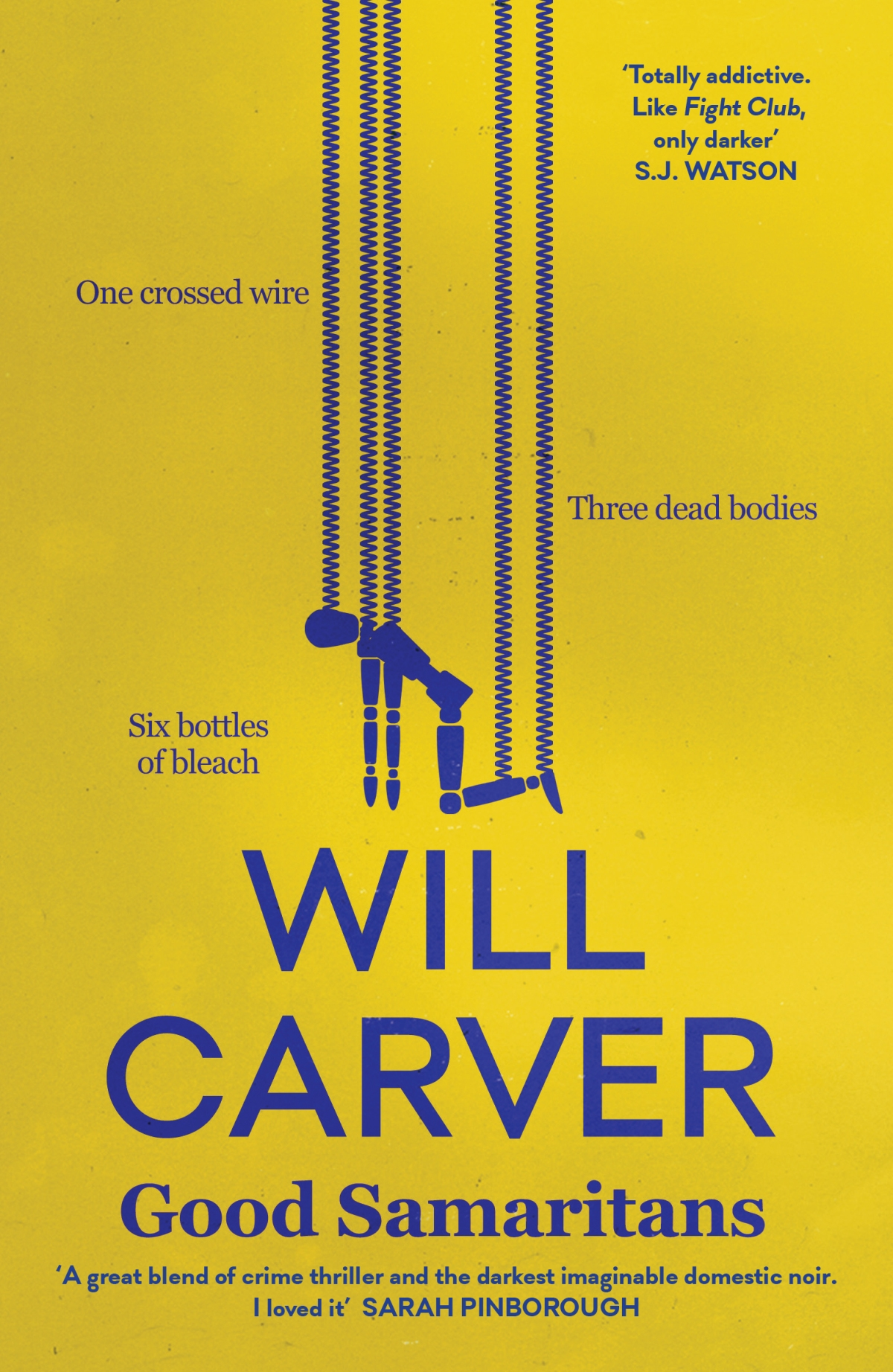 Blog Tour~Good Samaritans by Will Carver Ellen's Review