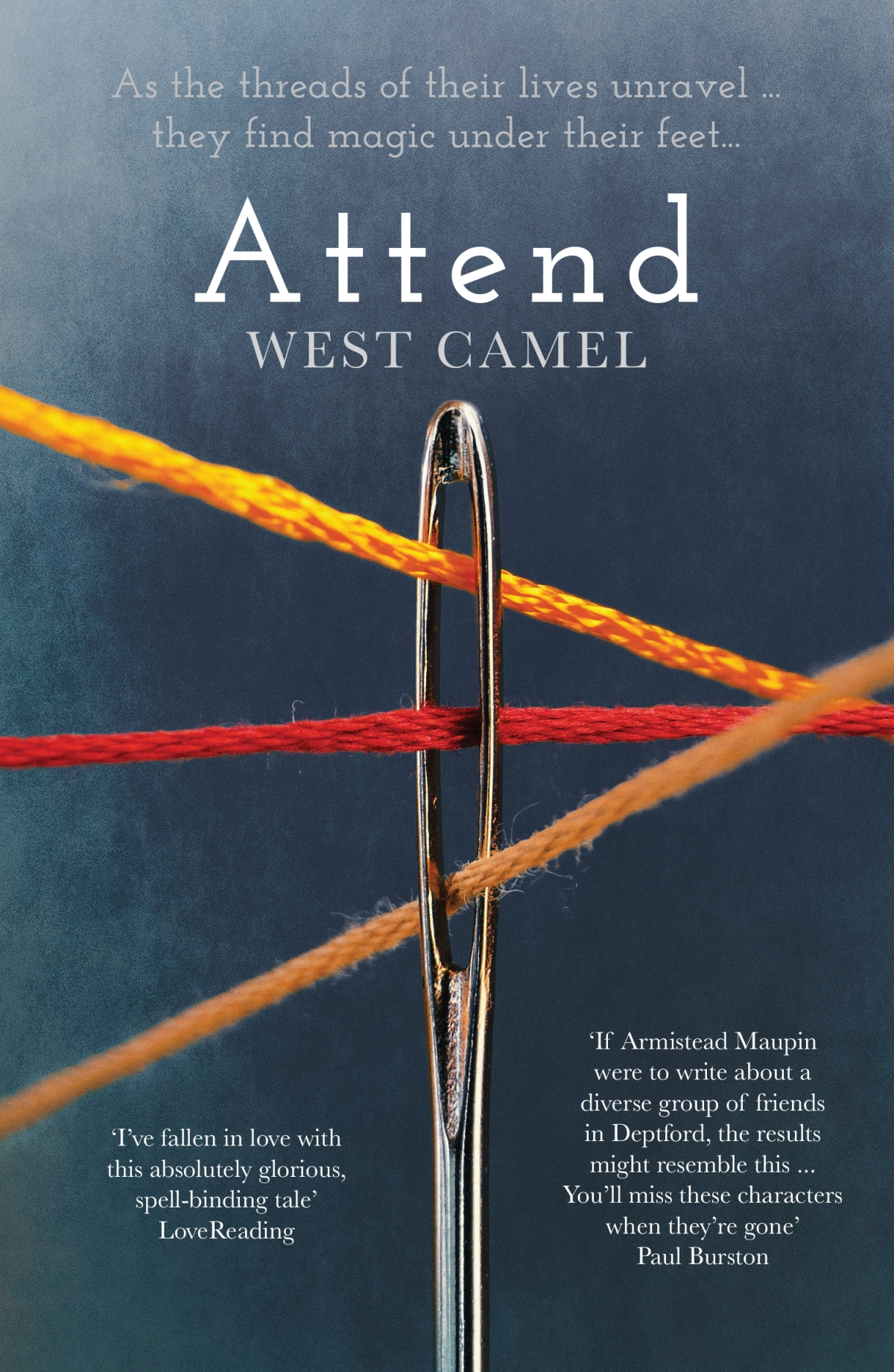 Blog Tour~ Attend by West Camel~ Ellen's Review