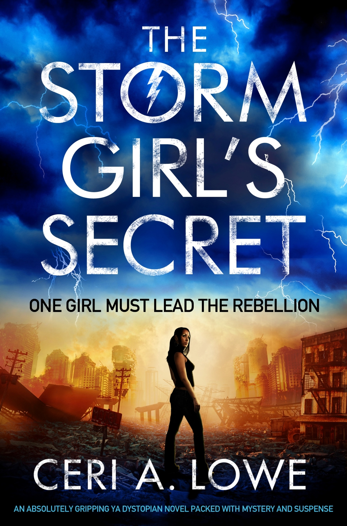 Blog Blast~ The Storm Girl's Secret by Ceri Lowe~ Ellen's Review