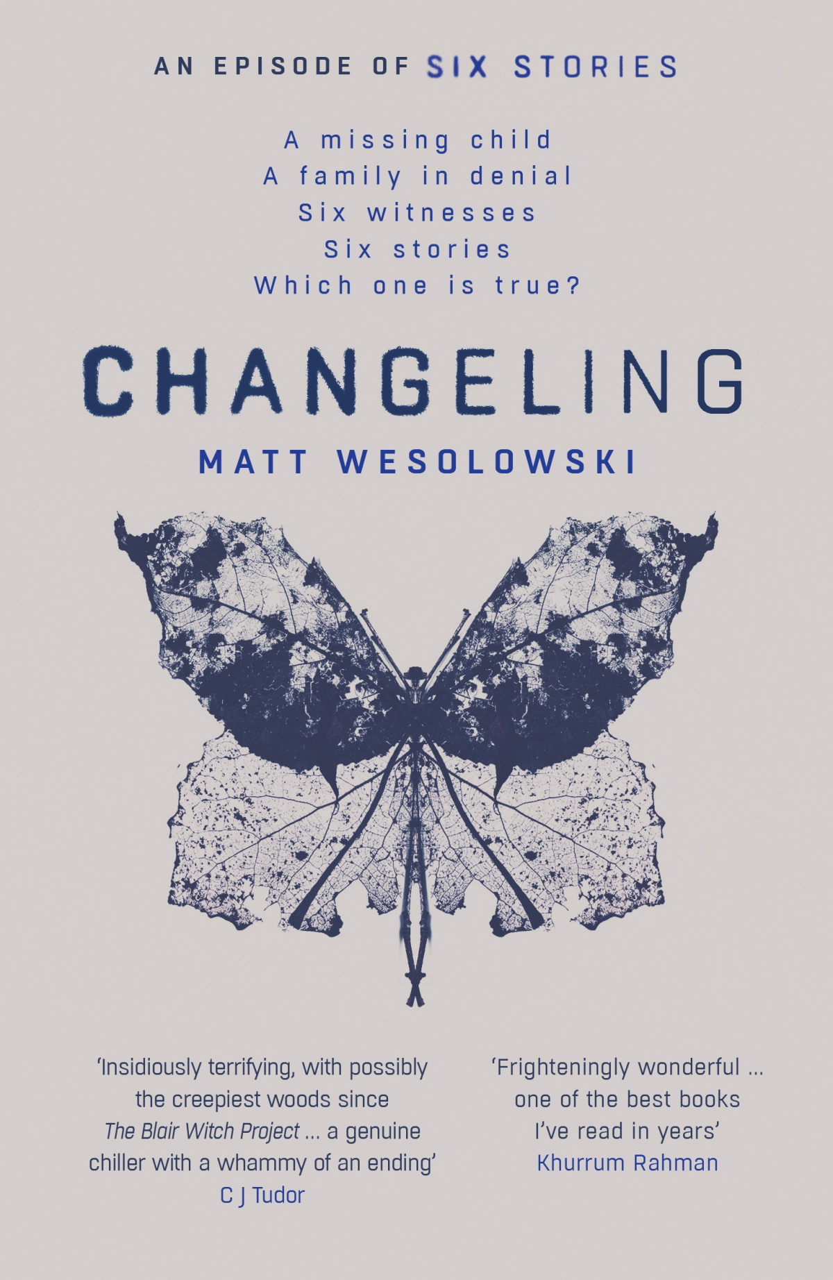 Blog Tour~Changeling (Six Stories #3) by Matt Wesolowski~Ellen's Review