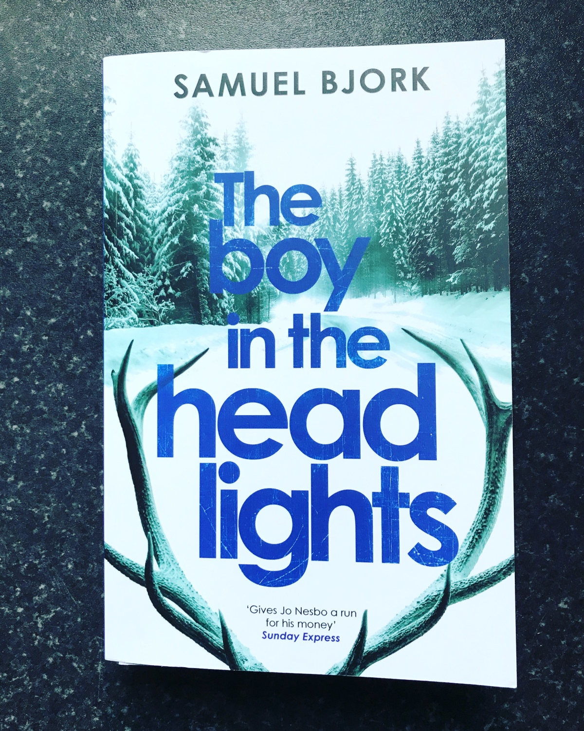 The Boy in the Headlights (Munch & Krüger #3) by Samuel Bjork